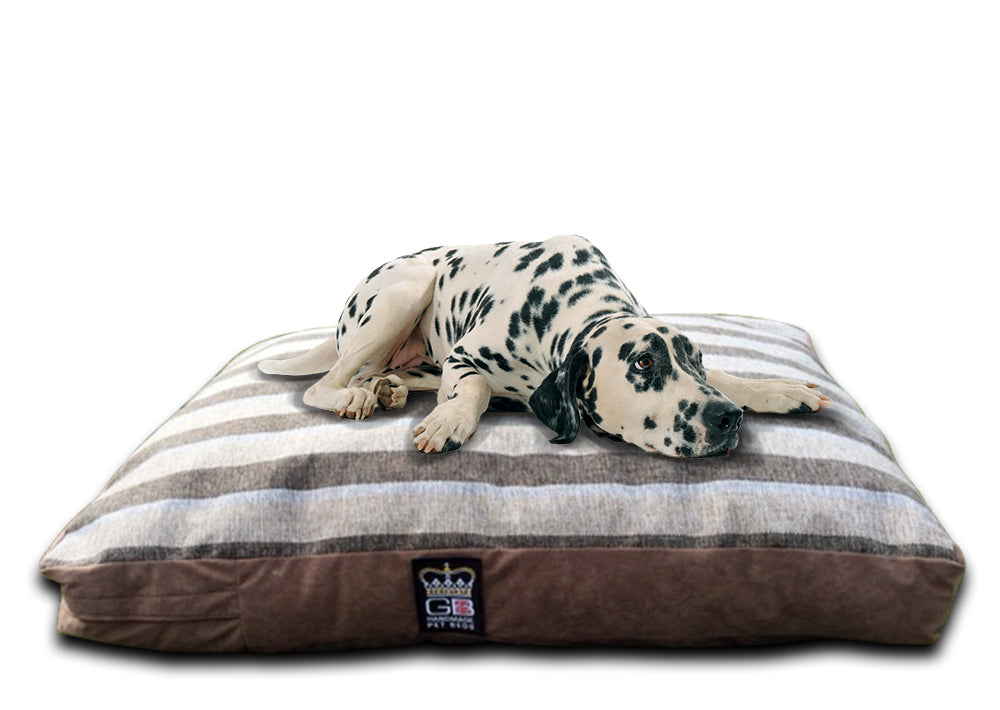 GB Pet Beds Dog Mattress Bed - Stripe Chatsworth Design
