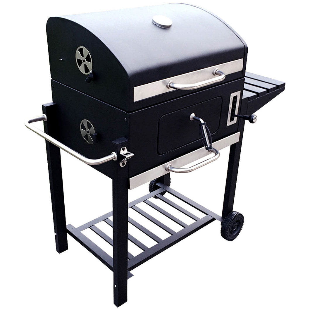 Charles Bentley American Large Portable Grill Charcoal BBQ