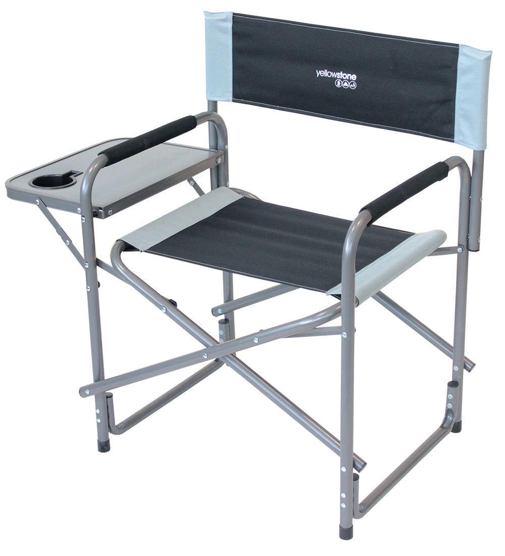 Yellowstone Director Camping Chair with Side Table