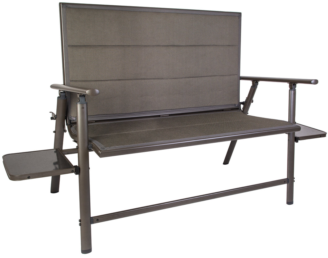 Quest Elite Naples Pro Folding Bench with Slide Out Side Tables