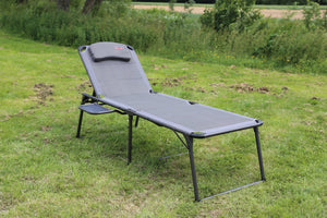Quest Naples Pro Sun Lounger with Side Table