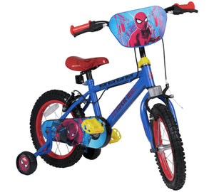 "14"" Superhero Kids Bike with Stabilisers"