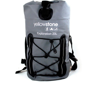Yellowstone Exploration 20L PVC Rucksack in Gun Metal Grey