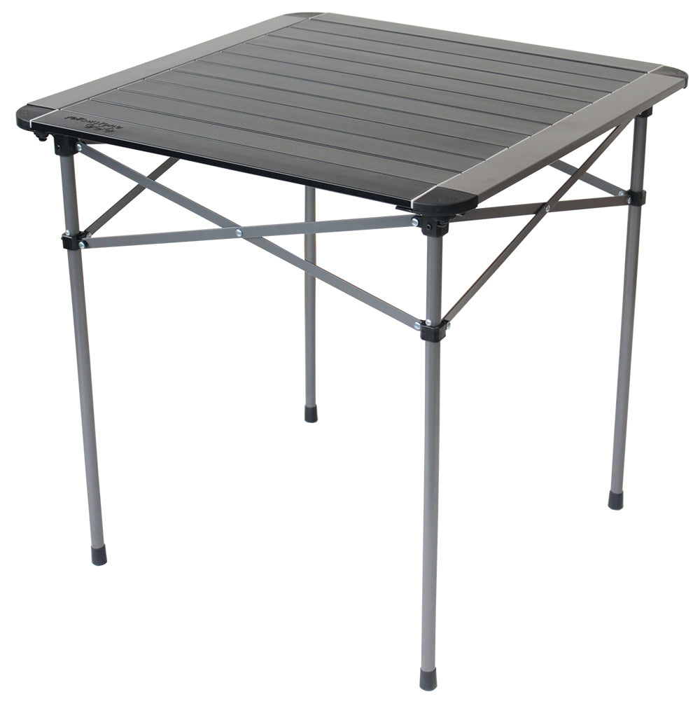 Yellowstone Aluminium Roll Top Single Camping Table
