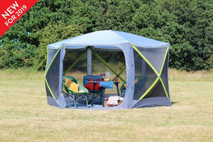 Outdoor Revolution Six Sided Cayman Screenhouse Pop Up Gazebo (2019)