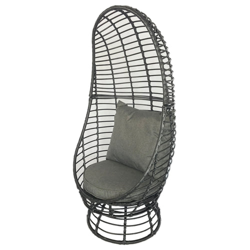 Charles Bentley Single Rattan Pod Chair