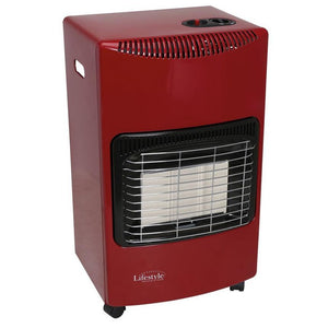 Quest Large 4.2kw Gas Cabinet Heater Red