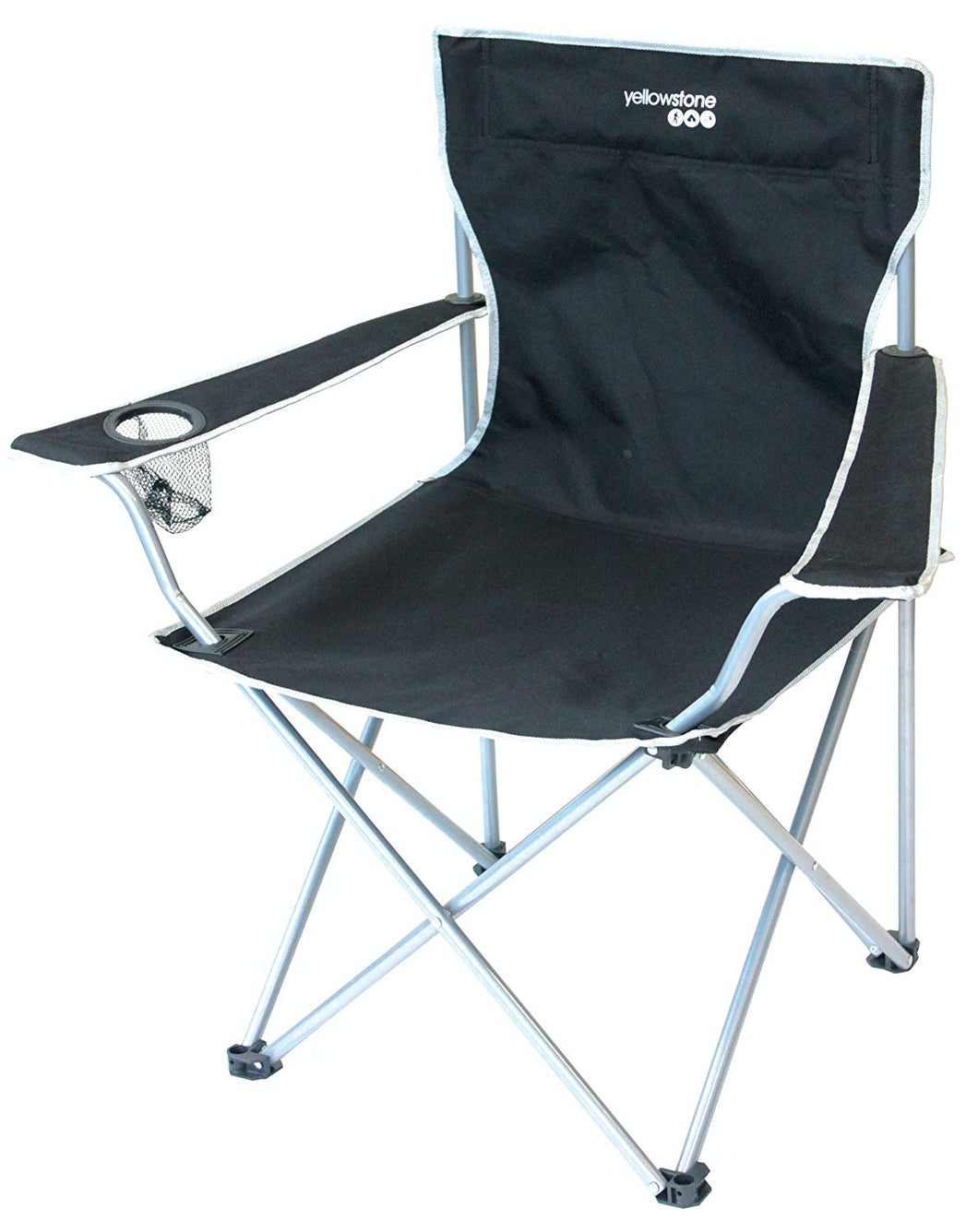 Yellowstone Outdoor Camping Executive Camping Chair - Black