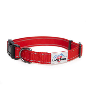 Long Paws Urban Trek Reflective Dog Collar