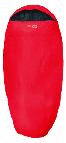 Yellowstone Sleepwell 300 2 Season Sleeping Bag - Red