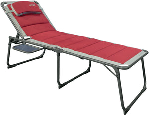 Quest Bordeaux Pro Sun Lounger with Side Table