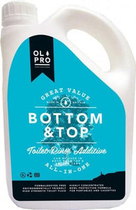 OLPRO Bottom and Top Caravan Toilet Cleaner (2L)