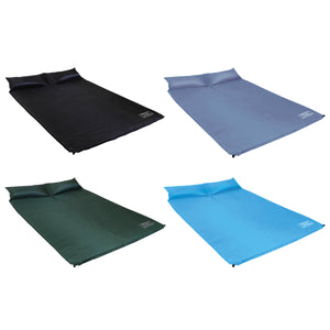 Bentley Double Self Inflating Camping Roll Mat - 3 Colours