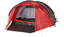 Yellowstone Peak 3 Person Dome Tent with Porch - Red