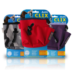 Clix Dog Treat Bag - Various Colours