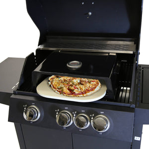 Charles Bentley BBQ Pizza Box with Thermometer