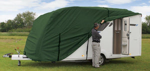 Quest Leisure Caravan Cover in Green - Various Sizes