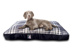 GB Pet Beds Dog Mattress Bed - Balmoral Check Design