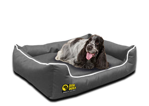 Dog Doza Waterproof Memory Foam Dog Bed Settee