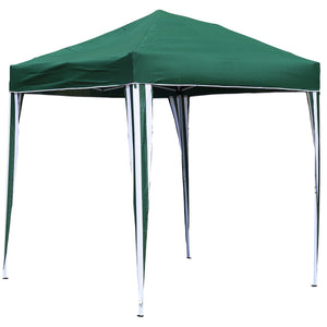 Charles Bentley 2 x 2m Pop Up Gazebo Canopy - Green