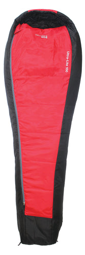 Yellowstone Ultra Lite 100 Sleeping Back - Red & Black
