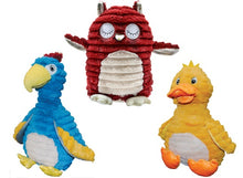 Patchwork Pet Feathered Friends Plush Dog Toys