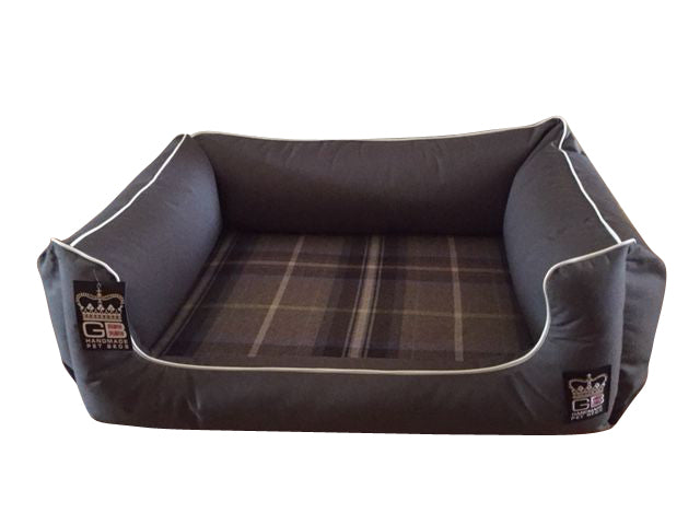 GB Pet Beds Dreamer Memory Foam Dog Settee - Various Sizes