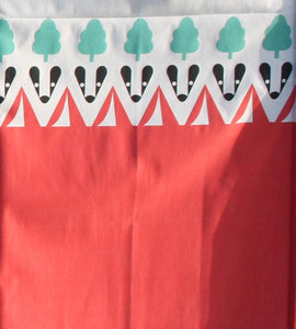 OLPRO Witley Camping Windbreak 5 Wooden Poles