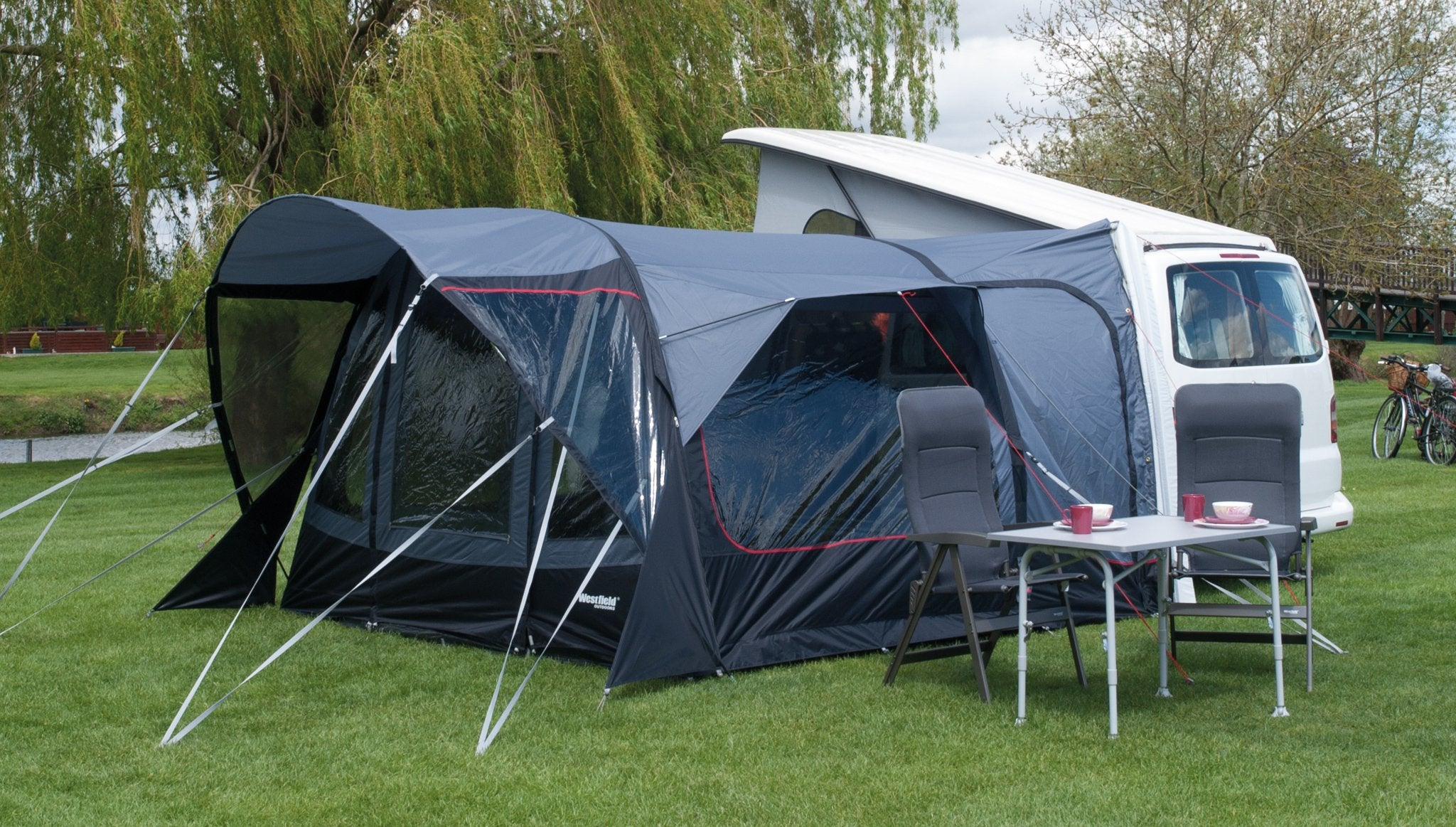 Westfield Aquila 320 Drive Away Motorhome Air Awning High Top