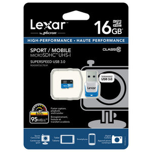 Lexar 16GB TV Recording USB Memory Card