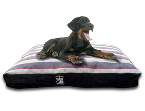 GB Pet Beds Dog Mattress Bed - Stripe Mayfair Granite Design