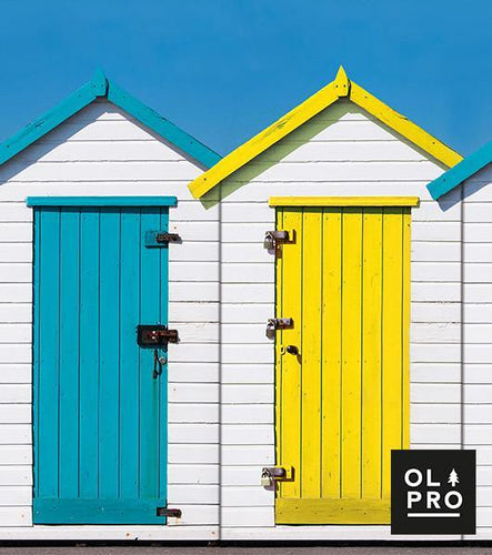OLPRO Beach Hut 4 Steel Pole Windbreak
