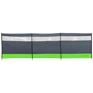 Charles Bentley Large 4 Pole Camping Windbreak Beach Shelter - 5m