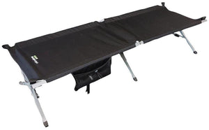 Yellowstone Serenity Camp Bed - Black