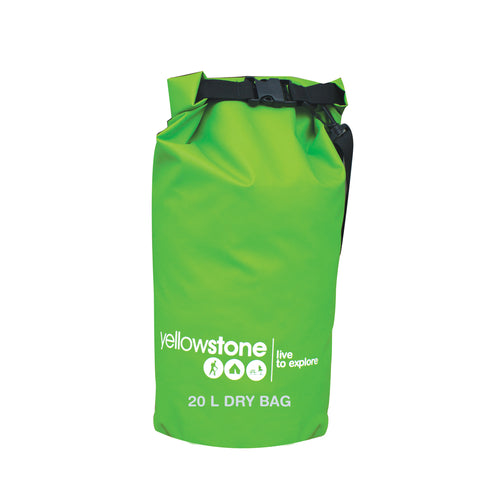 Yellowstone 20L PVC Waterproof Dry Bag