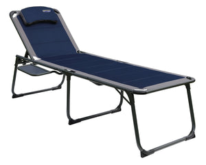 Quest Elite Ragley Pro Sun Lounger Chair with Side Table