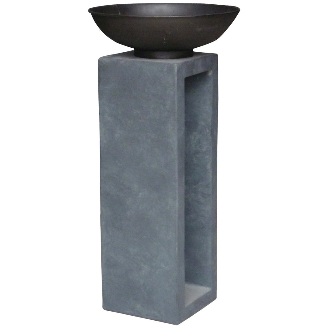Charles Bentley Metal Fire Bowl Patio Heater - Large