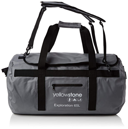 Yellowstone Exploration 65L PVC Duffle Bag - 2 Colours