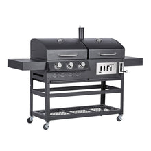 Charles Bentley Dual Fuel Charcoal & Gas BBQ