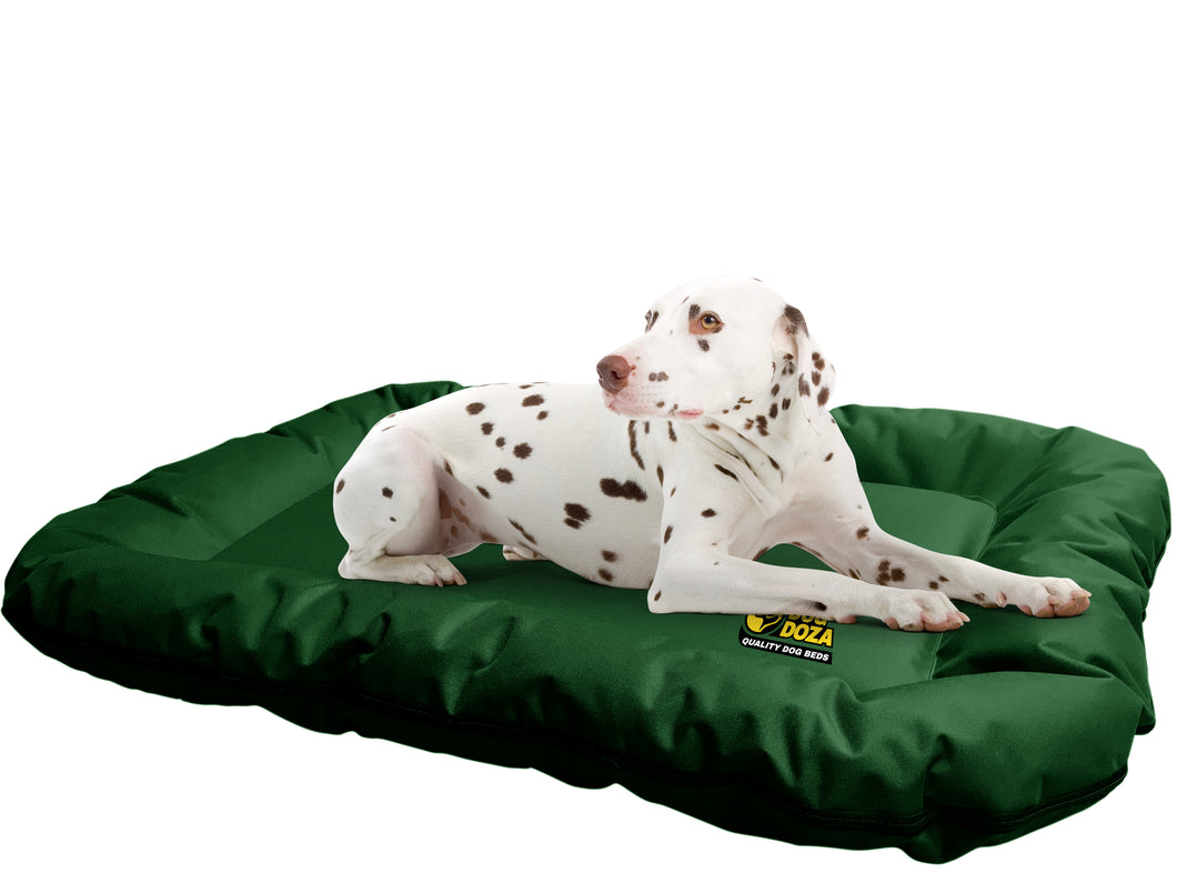 Dog Doza Waterproof Dog Bolster Bed Mat with Zip Off Covers