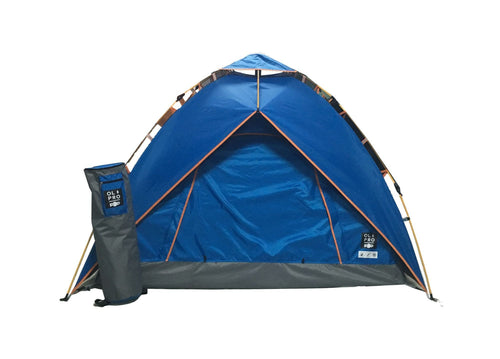 OLPRO POP Pop-Up Tent 2 Person Waterproof Blue