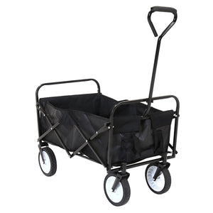 Charles Bentley Folding Festival Camping Wagon Trolley