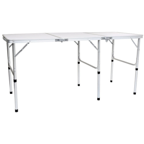 Charles Bentley Lightweight Triple Folding Camping Table