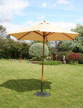 Charles Bentley Garden 2.4m Wooden Parasol - Cream