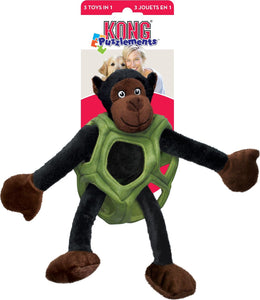 Kong Puzzlements Monkey Dog Toy - Large