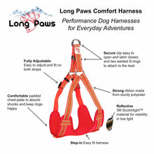 "Long Paws Comfort Collection 30"" Padded Rope Lead & Harness Set"