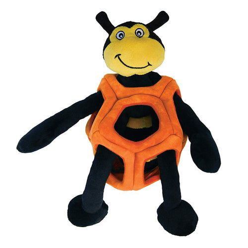 Kong Puzzlements Bee Dog Toy - Large