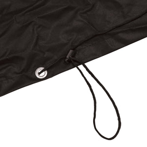 Charles Bentley 2 Seater Garden Swing Seat Waterproof Cover - Black