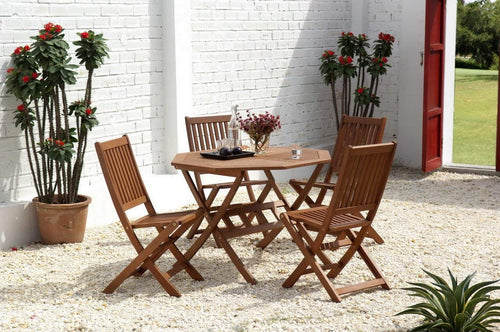 Cotswold 5 Piece Hardwood Garden Furniture Set