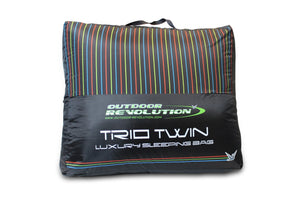 Outdoor Revolution Trio Branded Twin Sleeping Bag